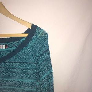 SO Sweaters - 🌟V neck blue sweater